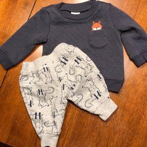 Newborn Sweatshirt and pants